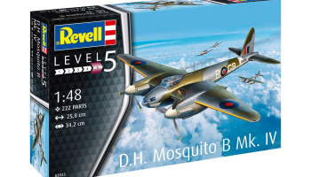 D.H. Mosquito Bomber (1:48) - Revell