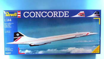 "Plastic ModelKit letadlo 04257 - Concorde ""British Airways"" (1:144)"