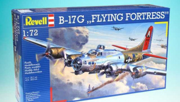 B-17G Flying Fortress (1:72) Revell Plastic ModelKit 04283
