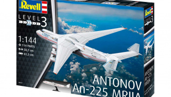 Antonov AN-225 Mrija (1:144) Plastic Model Kit 04957 - Revell