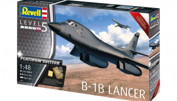 B-1B Lancer (Platinum Edition) (1:48) Plastic ModelKit Limited Edition 04963 - Revell