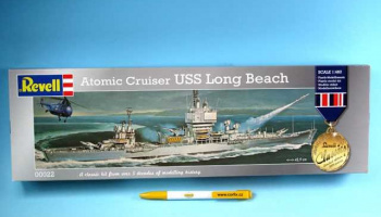 Plastic ModelKit loď 00022 - Atomic Cruiser USS Long Beach (1:460)