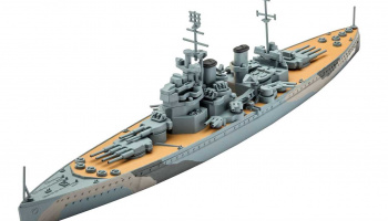 Plastic ModelKit loď 05135 - H.M.S. Prince of Wales (1:1200)