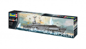 German Aircraft Carrier GRAF ZEPPELIN (1:720) Plastic Model Kit 05164 - Revell