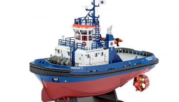 "Plastic ModelKit loď 05213 - Harbour Tug Boat ""Fairplay I, III, X, XIV"" (1:144)"
