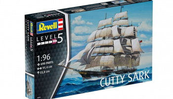 Cutty Sark (1:96) Plastic Model Kit 05422 - Revell