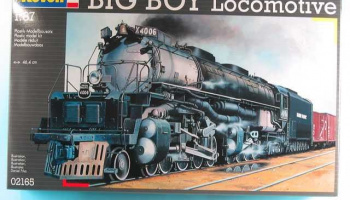 Big Boy Locomotive (1:87) Plastic Model Kit lokomotiva 02165 - Revell