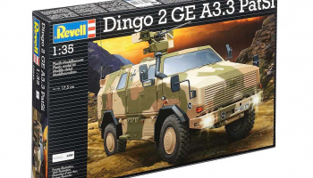 ATF Dingo 2 A3.3 PatSi (1:35) Plastic Model Kit 03242 - Revell