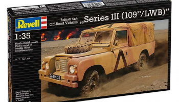 "British 4x4 Off-Road Vehicle""109 (Series III)  Plastic Model Kit 03246 1:35 - Revell"