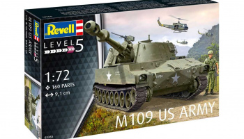 Plastic ModelKit military 03265 - M109 US Army (1:72)