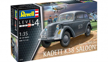 Plastic ModelKit military 03270 - German Staff Car KADETT K38 SALOON (1:35)