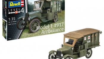 Model T 1917 Ambulance (1:35) Plastic Model Kit military 03285 - Revell