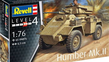 Humber Mk.II (1:76) Plastic Model Kit military 03289 - Revell