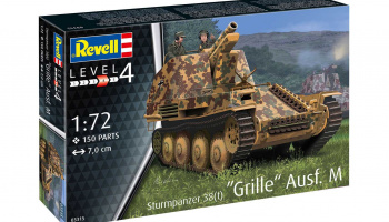 Sturmpanzer 38(t) Grille Ausf. M (1:72) Plastic ModelKit military 03315 - Revell