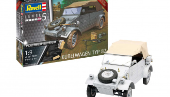 Limited Edition 03500 - Kübelwagen Typ 82 Platinum Edition (1:9) - Revell
