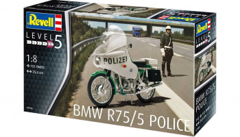 BMW R75/5 Police (1:8) Plastic Model Kit 7940 - Revell