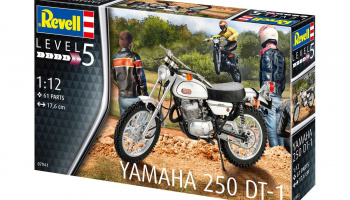 Yamaha 250 DT-1 (1:12) Plastic Model Kit 07941 - Revell