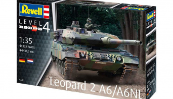 Leopard 2 A6/A6NL (1:35) Plastic ModelKit tank 03281 - Revell