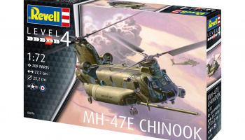 MH-47 Chinook (1:72) Plastic Model Kit 03876 - Revell