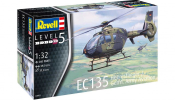 EC 135 Heeresflieger / German Army Aviation (1:32) - Revell