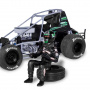 Plastic ModelKit MONOGRAM auto 4444 - Indy Race Parts #71 Joey Saldana (1:24)