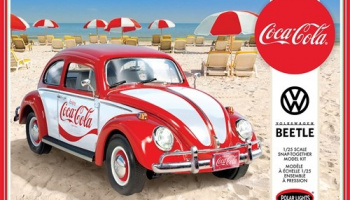 Coca Cola VW Beetle Car - Polar Lights
