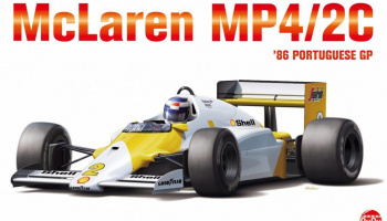 McLaren MP4/2C ´86 Portuguese GP 1:20 - NuNu Models