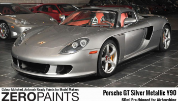 Porsche GT Silver Metallic - Zero Paints