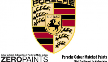 Porsche Paint 2x30ml Orange Pearl - Zero Paints