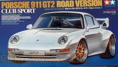 Porsche 911GT2 Road Version Club Sport - Tamiya