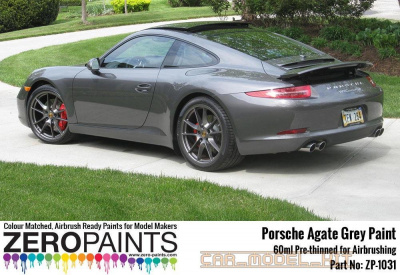 Porsche Paint 60ml Agate Grey - Zero Paints