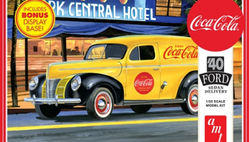 1940 FORD SEDAN DELIVERY (COCA-COLA) 1:25 MODEL KIT - AMT