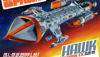 Space 1999 Hawk Mk IX 1/72  - MPC