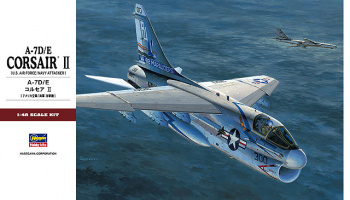 A-7D/E Corsair II U.S. Air Force/Navy Attacker (1:48) - Hasegawa