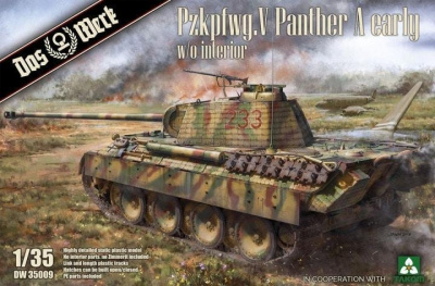 Pzkpfwg. V Panther Ausf.A Early 1/35 - Das Werk