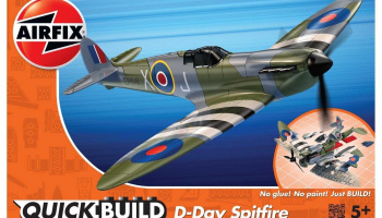 Quick Build letadlo J6045 - D-Day Spitfire