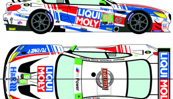 BMW M6 GTD 96 Rolex 24h of Daytona 2020 / IMSA Weathertech 240 at Daytona 2020 1/24 - Racing Decals 43