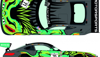 Mercedes AMG GT3 71 Blancpain World Challenge GT America - Cota 2019 1/24 - Racing Decals 43