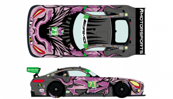 Merdeces AMG GT3 Rolex 24h of Daytona 2019 1/24 - Racing Decals 43