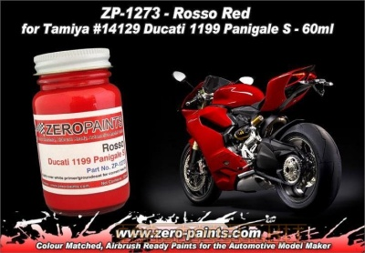 Rosso Red for Ducati 1199 Panigale S - Zero Paints