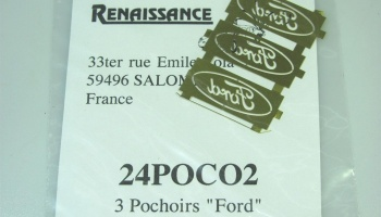 "Stencils of ""Ford"" - Renaissance"