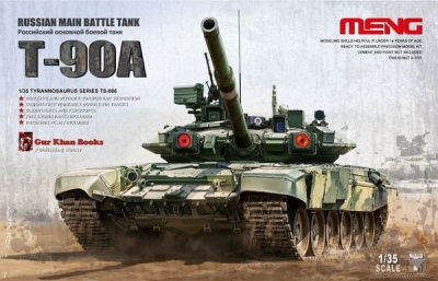 Russian Main Battle Tank T-90 (1:35) - Meng