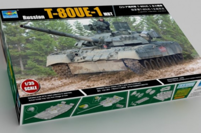Russian T-80UE-1 MBT 09579 1/35 - Trumpeter