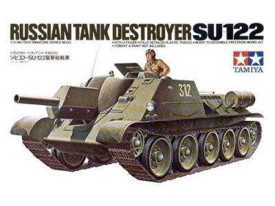 Russian Tank Destroyer SU-122 1/35 - Tamiya