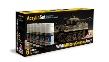 433AP - WWII Military German Army 6 ks - Italeri
