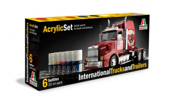 435AP - INTERNATIONAL TRUCKS & TRAILERS 6 ks - Italeri