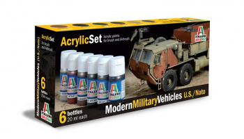 442AP - MODERN MILITARY VEHICLES (U.S./N.A.T.O.) 6 ks - Italeri