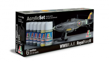 444AP - R.A.F. / ROYAL NAVY II 6 ks - Italeri