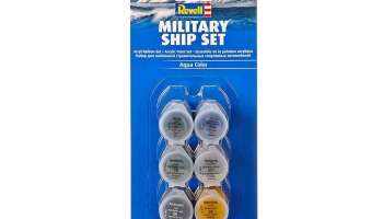 Sada barev Aqua Color 39073 - Military Ship Set