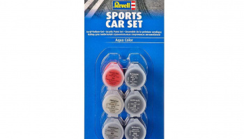 Sada barev Aqua Color 39074 - Sports Car Set